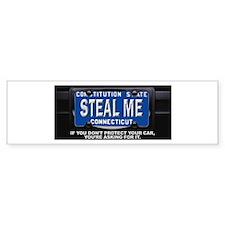 Steal My Conneticut Car Bumper Stickers