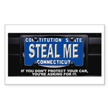 Steal My Conneticut Car Bumper Stickers