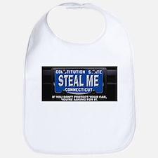 Steal My Conneticut Car Bib