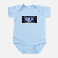 Steal My Conneticut Car Infant Bodysuit
