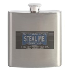 Steal My Conneticut Car Flask
