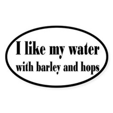 Beer, Barley and Hops Decal