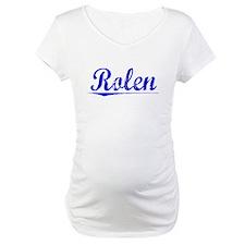 Rolen, Blue, Aged Shirt