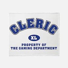 clericgamingdept Throw Blanket