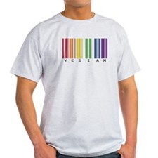 gay pride barcode T-Shirt