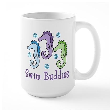 Swim Buddies Large Mug
