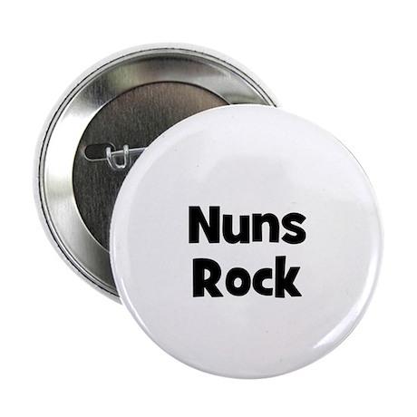 """NUNS Rock 2.25"""" Button (10 pack)"""