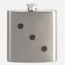 Bullet Holes Flask
