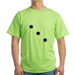 Bullet Holes Green T-Shirt