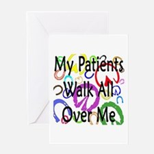 My Patients Walk All Over Me (Horse Hooves) Greeti