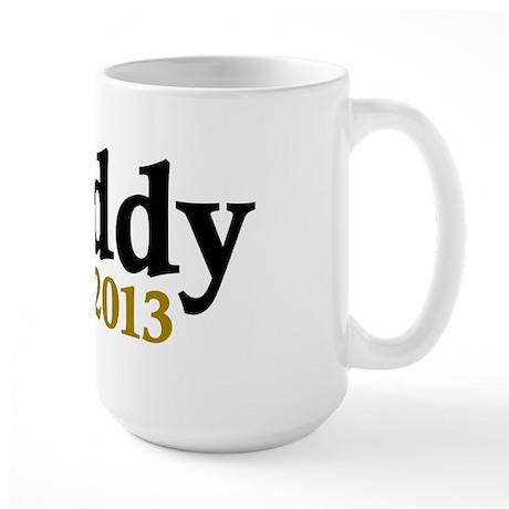 Daddy Est 2013 Large Mug
