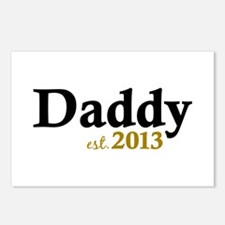Daddy Est 2013 Postcards (Package of 8)