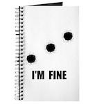 Bullet Holes Fine Journal