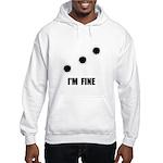 Bullet Holes Fine Hooded Sweatshirt