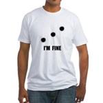 Bullet Holes Fine Fitted T-Shirt