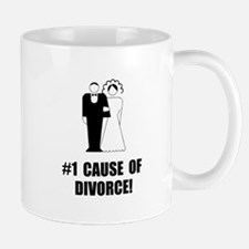 Cause Of Divorce Mug