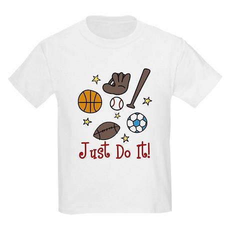 Just Do It! Kids Light T-Shirt