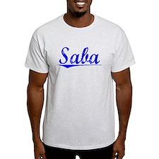 Saba, Blue, Aged T-Shirt