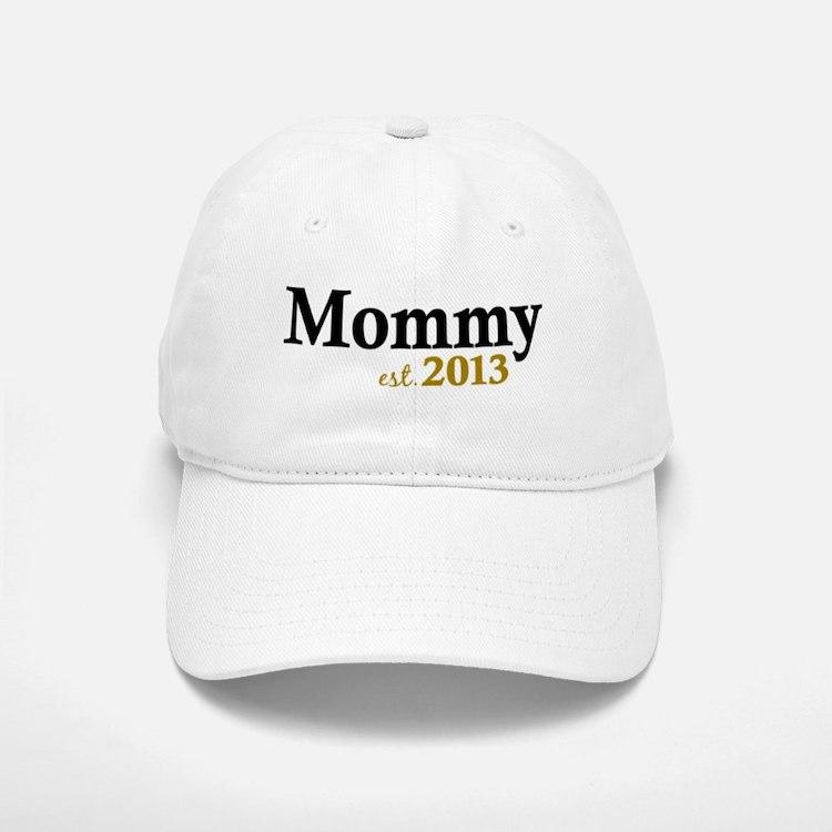 Mommy Est 2013 Baseball Baseball Cap