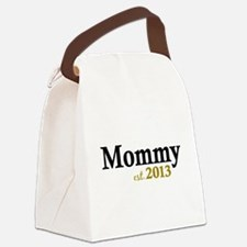 Mommy Est 2013 Canvas Lunch Bag