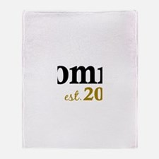Mommy Est 2013 Throw Blanket