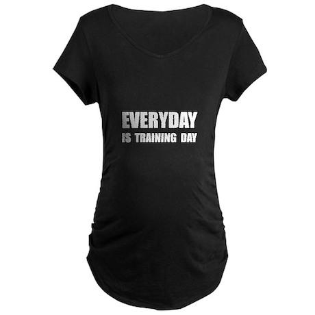 Everyday Training Day Maternity Dark T-Shirt