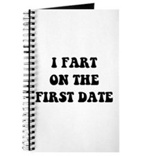 Fart On First Date Journal