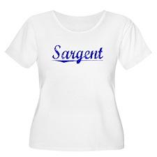 Sargent, Blue, Aged T-Shirt