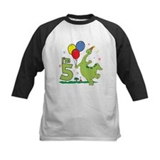 Dino 5th Birthday Tee