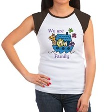 We Are Family Women's Cap Sleeve T-Shirt