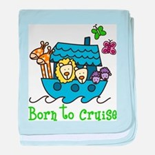 Born To Cruise baby blanket