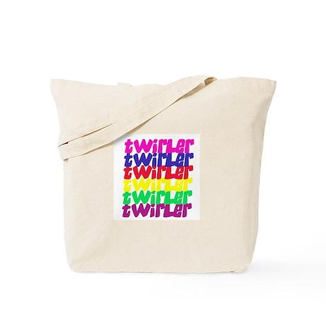 TWIRLER COLORS Tote Bag