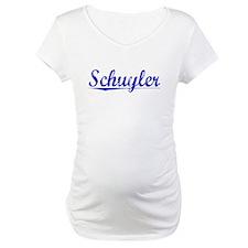 Schuyler, Blue, Aged Shirt