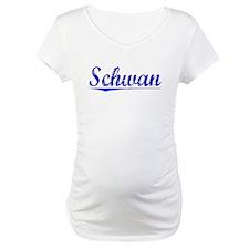 Schwan, Blue, Aged Shirt