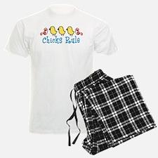 Chicks Rule Pajamas