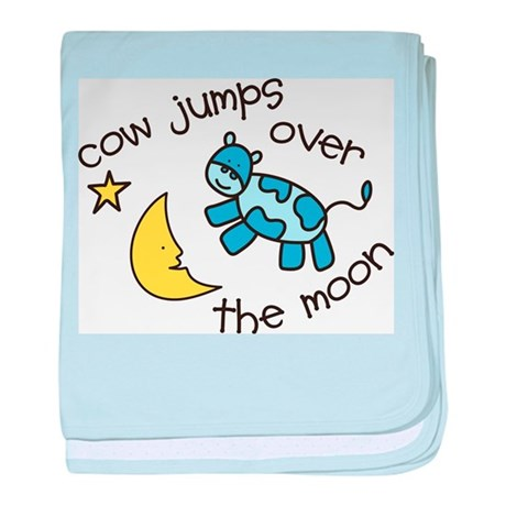 Over The Moon baby blanket