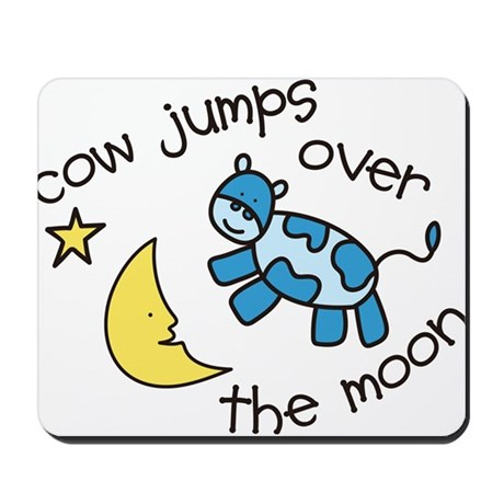 Over The Moon Mousepad