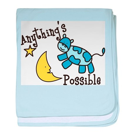 Anythings Possible baby blanket