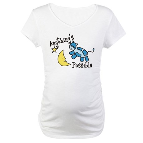 Anythings Possible Maternity T-Shirt