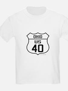 US Route 40 - Ohio T-Shirt