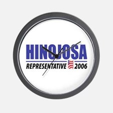 Hinojosa 2006 Wall Clock