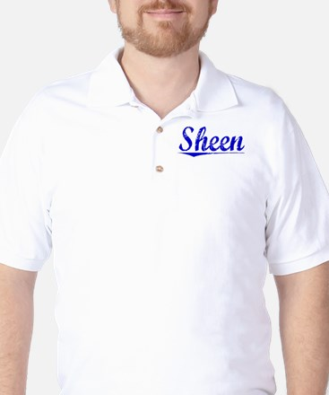 Sheen, Blue, Aged Golf Shirt