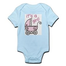 Its A Girl Infant Bodysuit