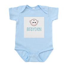 Brayden - Baby Face Infant Creeper