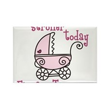 Stroller Today Rectangle Magnet