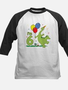 Dino 6th Birthday Tee