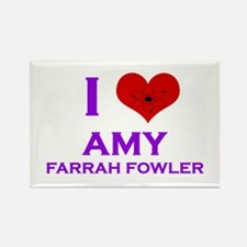 I Heart Amy Farrah Fowler Rectangle Magnet
