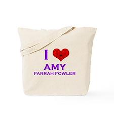 I Heart Amy Farrah Fowler Tote Bag
