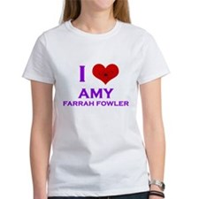 I Heart Amy Farrah Fowler Tee