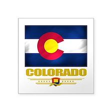 """Colorado (Flag 10).png Square Sticker 3"""" x 3"""""""